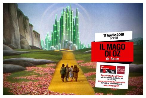 Mago di Oz - VASTO 17.04.16 (Fronte)